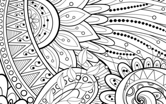 Astuce truc anti-stress coloriage mandala